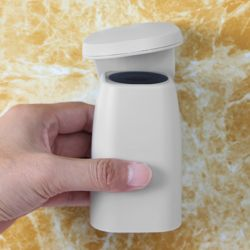 자석부착 거꾸로 양치컵(그레이)
