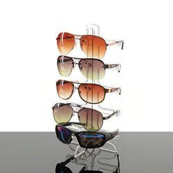 5단 투명 선글라스 진열대