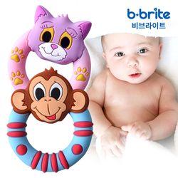 비브라이트 실리콘 애니멀 치발기 2개세트 보관케이스