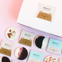 [무료배송] 초코곰 바크 초콜릿 DIY 만들기 세트 발렌타인데이