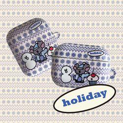 holiday airpods case (하드에어팟케이스)