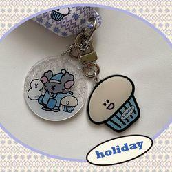 [뮤즈무드] holiday key ring (키링)