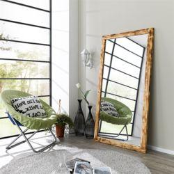 클라우스 불도장 초대형 원목 거울 900