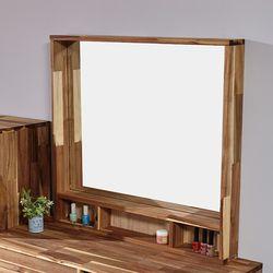 소리노 원목 거울