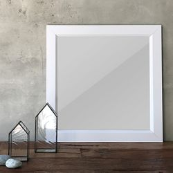 푸지 하이그로시 사각 벽걸이 800거울