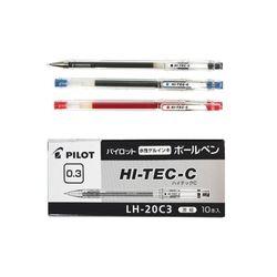 파이롯트 하이텍C LH-20C3 0.3mm /10개입 1세트