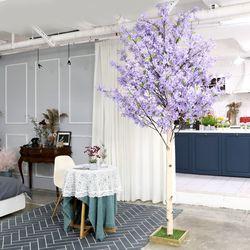 인조나무 인테리어 조화 라일락나무 230cm 퍼플