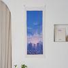 풍경 세로형 패브릭 포스터 . 바란스커튼