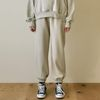 GIRLISH SWEAT PANTS [LIGHT BEIGE]