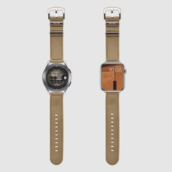 [MR TIME Woven Beige] 우븐 시계줄 베이지