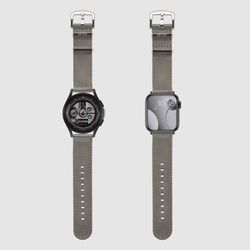 [MR TIME Woven Gray] 우븐 시계줄 그레이