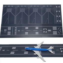 프라모델 모형비행기 비행기모형 활주로 공항도로 DIY