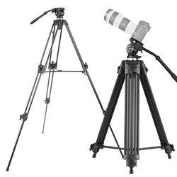본젠 VT-928Q 방송용 비디오 카메라 삼각대 (유압식헤드)