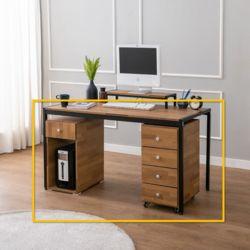 지핀 컴퓨터 책상 세트 1200