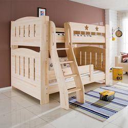 겨레 편백나무 2층침대