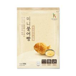 냉동 미니붕어빵 카스타드 크림 500g