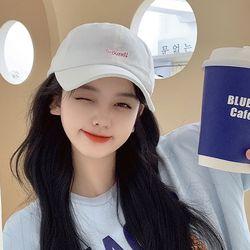 히퐁 여성 얼굴소멸 무지 볼캡 야구모자