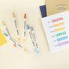 공책 오첵 O-CHECK 색이 변하는 반전 시크릿 다꾸펜 세트