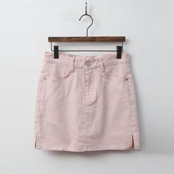 Cotton Mini Skirt - 치마바지