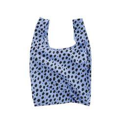 [바쿠백] 휴대용 장바구니 접이식 시장가방 Blue Cheetah
