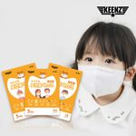 킨즈 아기와나 우리가족 KF80 초소형 소형 마스크 100매