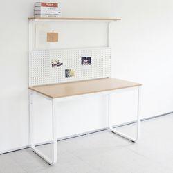 HL5002 필웰 루피노 라운드 타공판 책상 테이블 1200