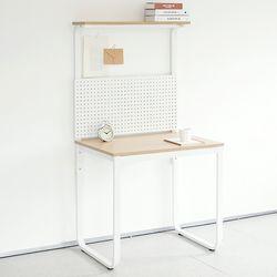 HL5001 필웰 루피노 라운드 타공판 책상 테이블 800