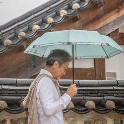 단청 3단 양우산