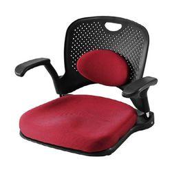 F5761 솔리드 고급형좌식 의자 (요추형탈부착)