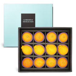 CJ프레시웨이 과일 선물세트 한라봉+레드향+천혜향 3.8kg