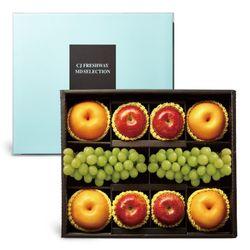 CJ프레시웨이 과일 선물세트 사과+배+샤인머스킷 5.5kg