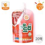 국내산 생과일주스 아람드리 사과맛 20팩 (100ml X 20개)