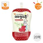국내산 유아음료 마마젤리쭈 딸기맛 20팩 (100ml X 20개)