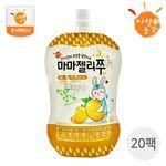 국내산 유아음료 마마젤리쭈 망고맛 20팩 (100ml X 20개)
