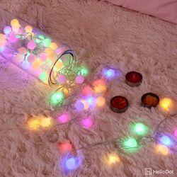 컬러마법 LED 앵두전구 30구