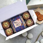 해담 꿀담 약과 선물세트 미니 한과 유과 간식 명절 설 추석