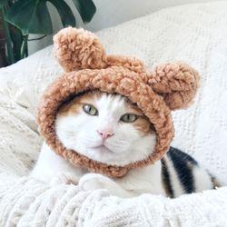 뽀글이 곰돌이 모자 고양이 강아지 옷 할로윈 선물 설빔 MIYOPET