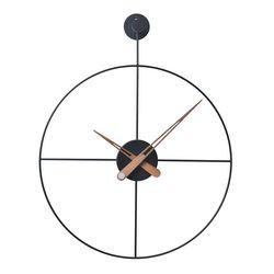 21리뉴얼-와이어벽시계 원형(BK)