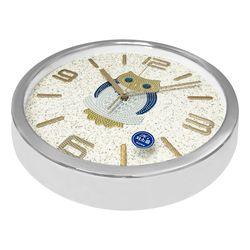 골드 부엉이 벽시계 실버 테두리 시계