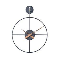 21리뉴얼-와이어벽시계 미니(BK)