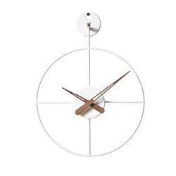 21리뉴얼-와이어벽시계 미니(WH)
