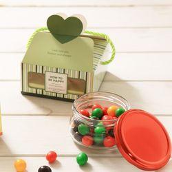 싱글하트(90g) 화이트데이 사탕 젤리 초콜릿 여친선물
