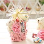 커플바구니(125g) 화이트데이 사탕 젤리 초콜릿 선물