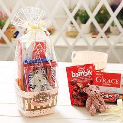 베스트바구니(263g) 화이트데이 사탕 초콜릿 여친선물