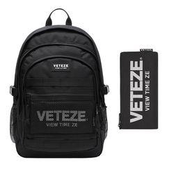 [SET] 드림 키퍼 백팩 (블랙) Dream Keeper Backpack (black)