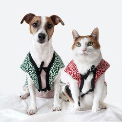 당초 뽀글이 조끼 후리스 베스트 고양이 강아지 옷 겨울 MIYOPET