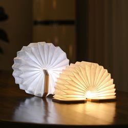 무아스 아코디언 LED 충전식 무드등