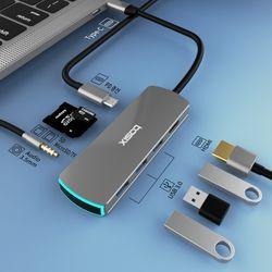 베이식스 BS8P 8in1 C타입 멀티 허브 USB 3.1 hdmi 4k