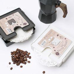 이노마타 커피 필터 케이스여과지보관티슈케이스