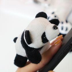 (made)매달려있는 팬더 인형 그립톡 폰케이스